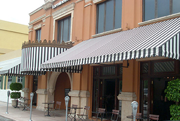 Canvas Awnings Commercial Custom Awning