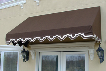 Residential Canvas Awning