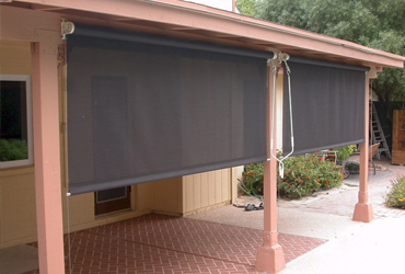Residential Roll Down Curtain